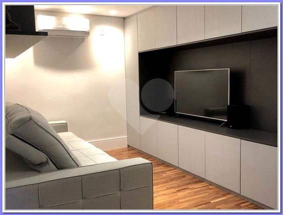 Apartamento Alto Padrão, Laser Completo E 3 Vagas No Brooklin! - 345-im17608