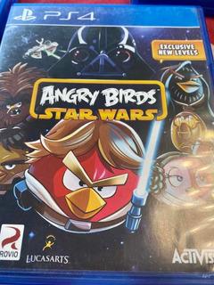 Juego Ps4 Angry Birds Starwars Usado Buen Estado