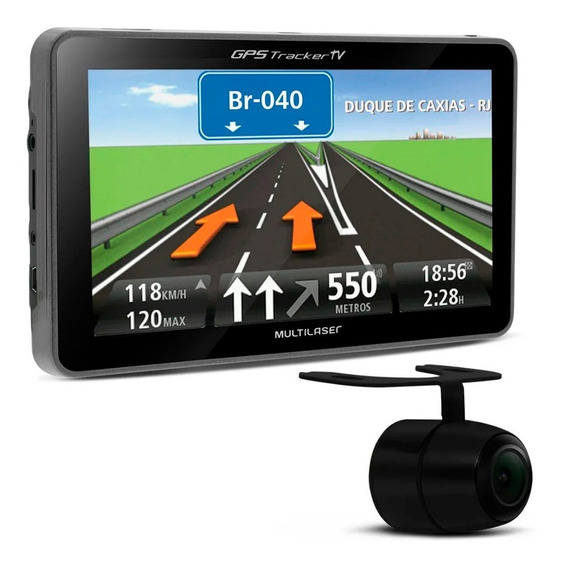 Gps Automotivo Multilaser Gp039 7
