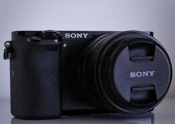 Câmera Sony A6000 Lente 35mm 1.8 Oss