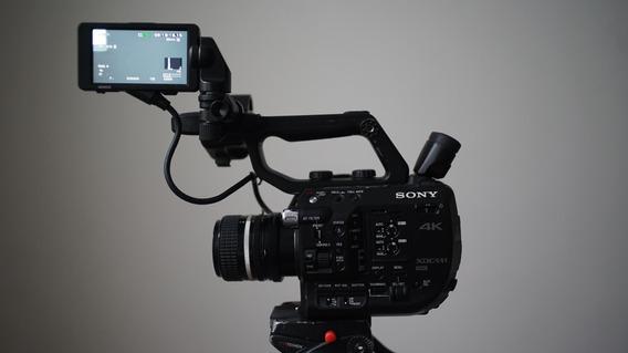 Sony Pxw-fs5 Mark I Seminova Em Ótimo Estado
