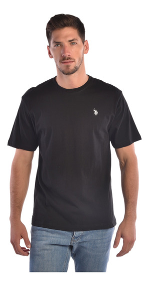 Playera Regular Fit U.s. Polo Multicolor Usltm445786 Hombre