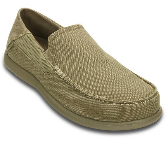 Zapatos Crocs Hombre Casual Nauticos - Santa Cruz Luxe -