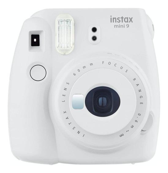 Fujifilm Instax Mini 9 Smokey White Camara Polaroid