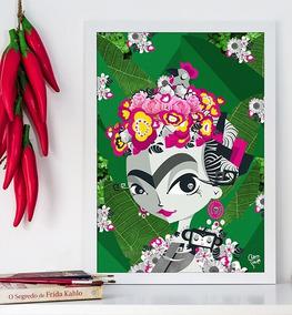 Pã´ster Friducha Frida Kahlo