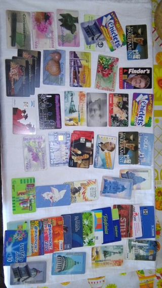 Tarjetas Telefonicas Coleccionables Lote