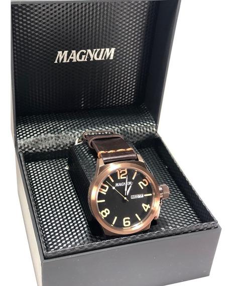 Relógio Magnum Militari Caixa Grande Masculino Ma33399r