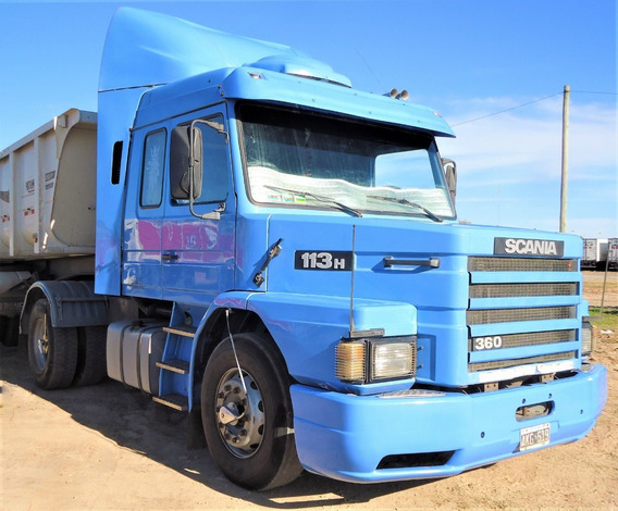 Dueño Vende Hermoso Camion Scania 113h 360 Tractor Año 1995.