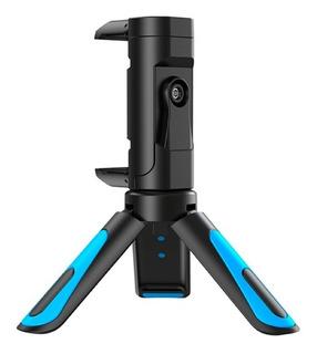 Binden Mini Tripode Jj08 De Viaje Para Smartphone O Cámara, Rotación 360º, Con Luz Led Y Diseño Compacto