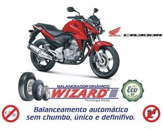 Balanceamento Dinâmico Sem Chumbo Pneus Rodas Honda Cb 300r