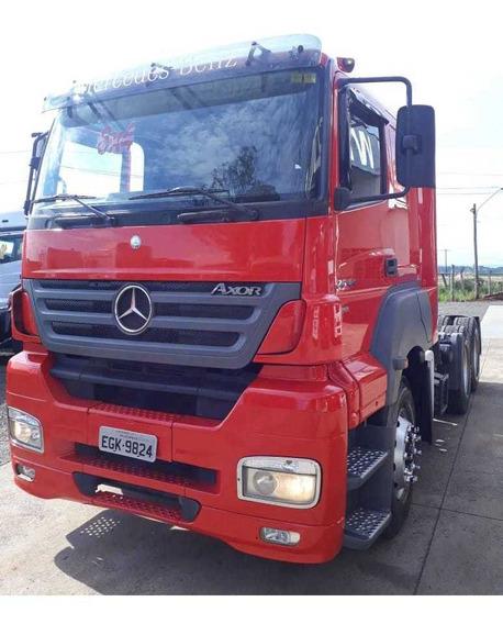 Mercedes-benz Axor 2644 Tração 6x4 (premium), Único Dono