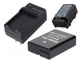 Kit Bateria Enel14 + Carregador P/ Nikon D3100 D3200 D5100