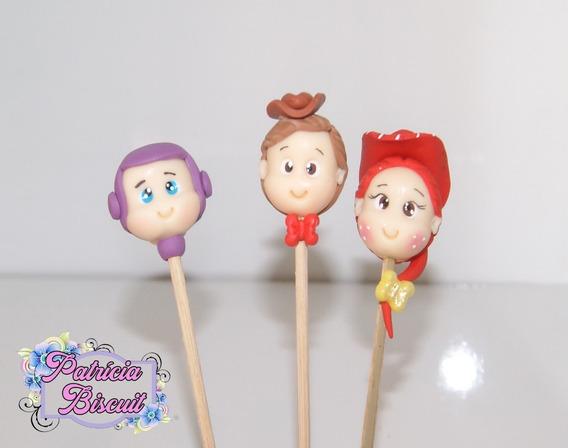 Palito De Doce Toy Story Lembrancinha Palito De Marshmallow
