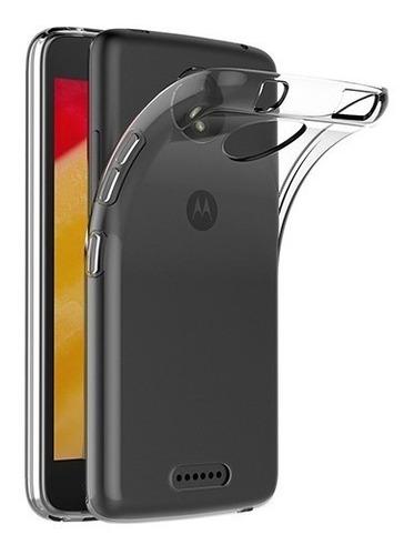 Protector Funda Tpu Premium Para Motorola Moto C Febo