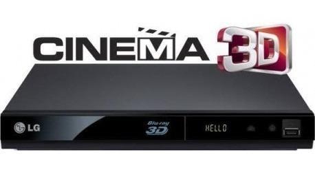 Blu Ray 3d Marca LG Modelo Bp325 Y Dvd Nuevo