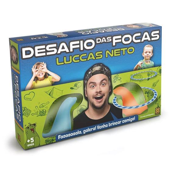 Jogo - Desafio Das Focas - Luccas Neto - Grow