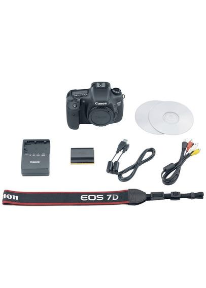 Canon Eos 7d -câmera Dslr (apenas Corpo) C/ 10k