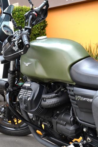 Imagen 1 de 15 de Espectacular Motocicleta A La Venta. Marca Guzzi, Modelo V7