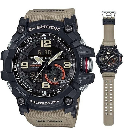 Relógio Casio G Shock Mudmaster 100% Novo Manual