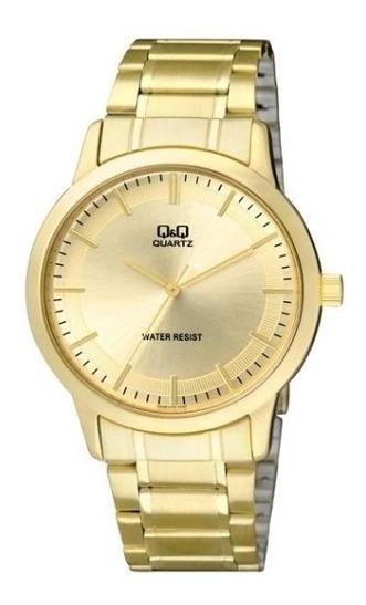 Relógio Analógico Q&q Q946j010y Dourado