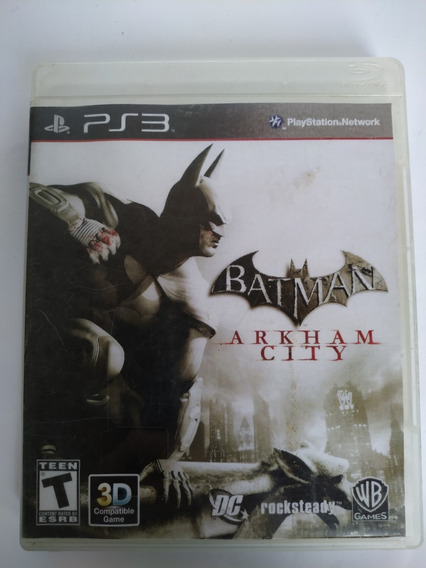 Batman Arkham City Ps3 Original Mídia Física
