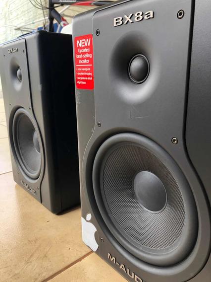 Monitor De Referência M-áudio Bx8a (par)