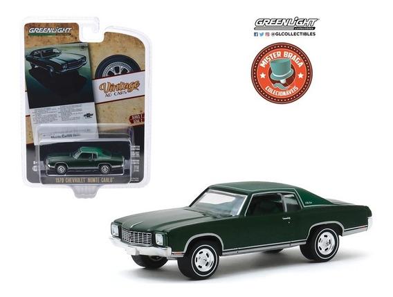 Chevrolet Monte Carlo 1970 Vintage Cars S2 Greenlight 1/64