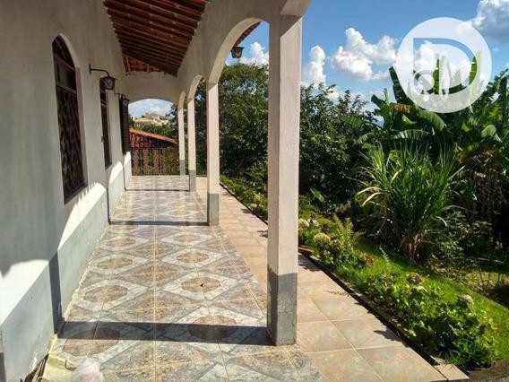 Chácara Com 2 Dormitórios À Venda, 1000 M² Por R$ 720.000,00 - Morada Da Lua - Vinhedo/sp - Ch0146