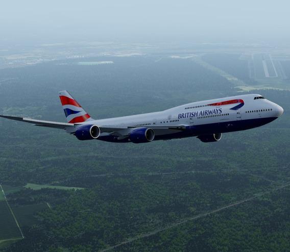 Boeing 747-4 E 747-8 Pmdg Para Fsx/prepar3d V4/v5. Aeronave)