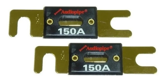 Fusible Anl Audiopipe 100 A 200 Amp 32 Volts 24 K Gold