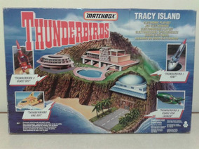 Matchbox Ilha Thunderbirds Tracy Island Nova 1/18 1/43 1/64