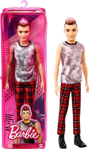 Imagen 1 de 5 de Ken Fashionista 176 Cabello Esculpido Con Puntas Mattel
