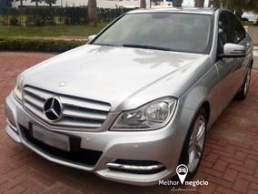 Mercedes-benz C-180 Cgi Classic 1.8 156cv Aut. 2012 Prata