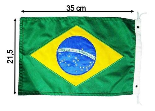 Bandeira Brasil Universal Barcos Lanchas Antenas Mastros