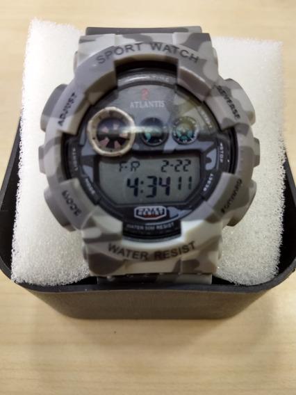 Relógio Original Atlantis Digital Camuflado Prova D