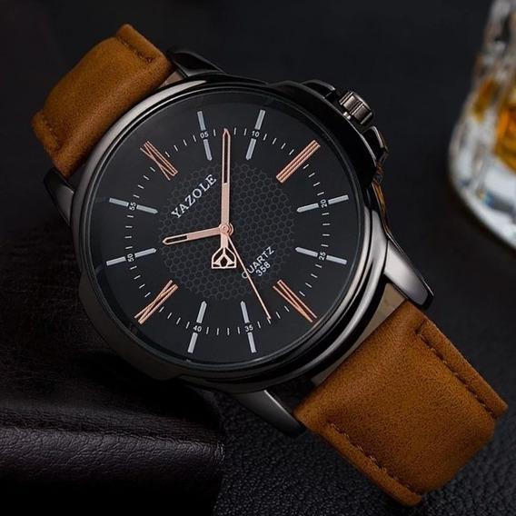 Relógio Masculino Novo Original Pulso Unique Top
