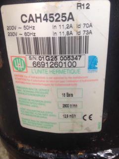 Compresor Tecumseh Francés 2hp En Alta Gas 12