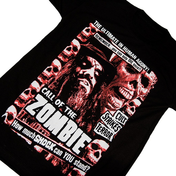 Rob Zombie Remera - Serigrafia - Walk On Hell - White Zombie