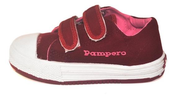 Zapatilla Lona Abrojo Pampero Infantil 3 Variantes