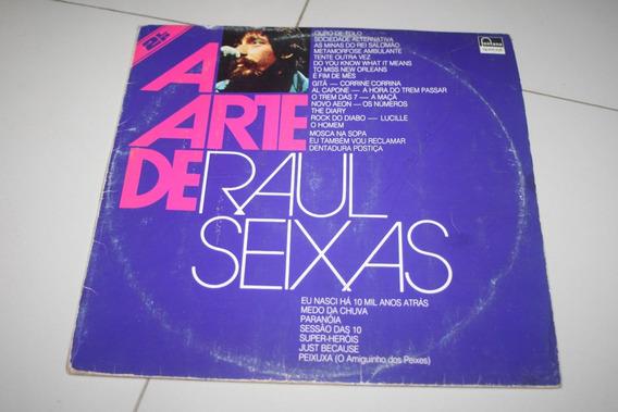 Raul Seixas - A Arte De Lp Duplo Mutantes Casa Rita