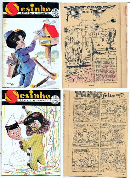 Luc007 Doze Revistas Infantil Sesinho Ano 1953 Nºs 62 Ao 73