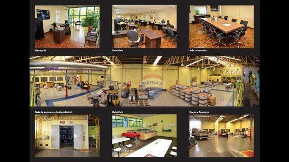 Salão Para Locação 4350 M² Parque Industrial Harmonia - Nova Odessa/sp - Sl0027