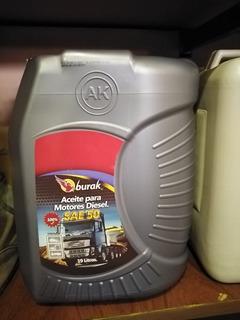 Aceite Diesel 50 Burak Cf Importado Excelentes Precios