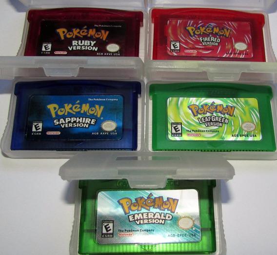 Pokémon Sapphire Firered Ruby Emerald Ou Leafgreen 1 Jogo