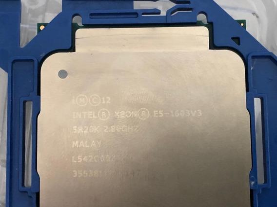 Processador Intel® Xeon® E5-1603 V3 Cache De 10 M, 2,80 Ghz