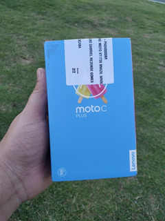 Moto C Plus Lacrado - Envio Já