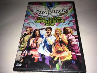 Casi Angeles En Vivo Gran Rex 2009 Dvd Nuevo Cerrado