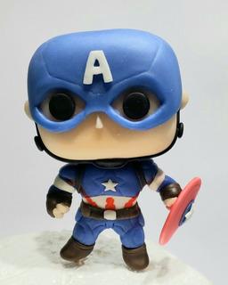 Capitán América Estilo Funko Pop