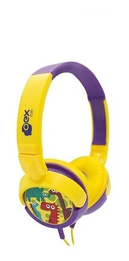 Headphone Infantil Dino Oex Kids 15w Hp300