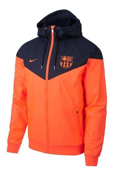 Jaqueta Corta Vento Do Barcelona Barça Original - Nova 2018